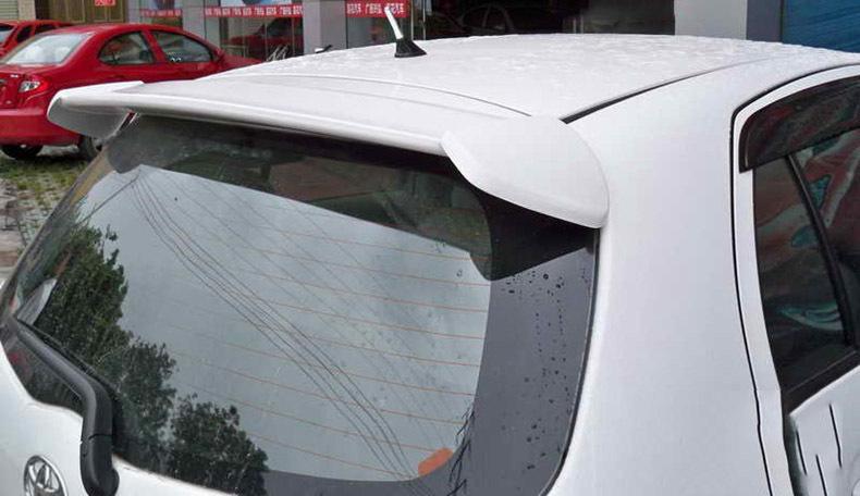 トヨタ ヴィッツ 2代目 KSP SCP NCP9# 型 05-10 リアルーフスポイラー ABS製 MUGAN 無限 リアウィング エンドスポイラー 素地 未塗装