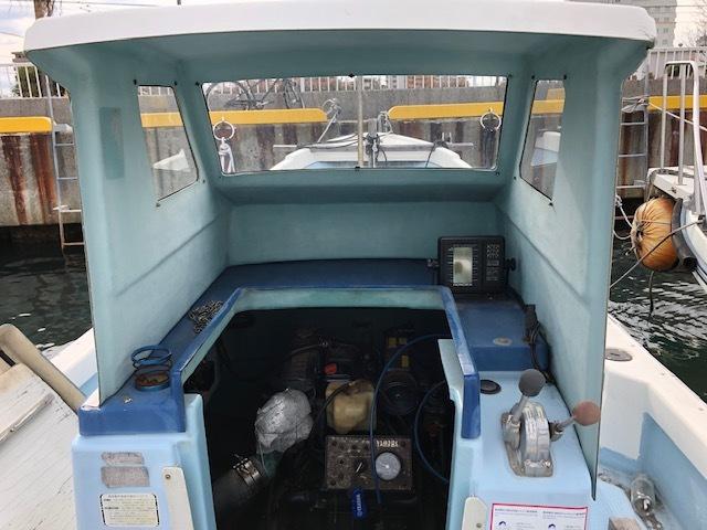 ヤマハディーゼル船_画像9