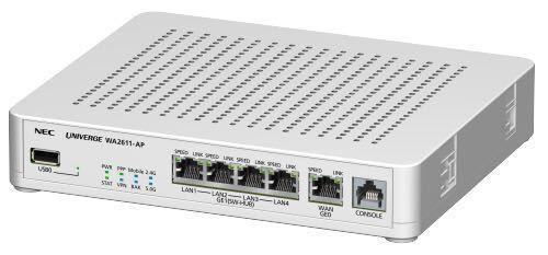 NEC UNIVERGE WA2612-AP 無線AP,SIMフリールータ 新品未使用未開封 別売りアンテナ付き