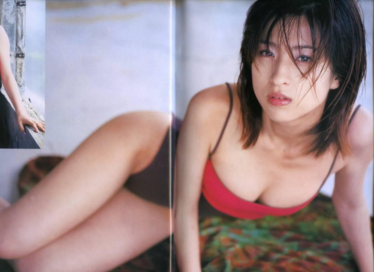 ☆☆仲根かすみ 吉岡美穂 JURI 黒羽夏奈子『Sabra ザ・ガールズ・エクセレント 2002年 2/10号』☆☆_画像1