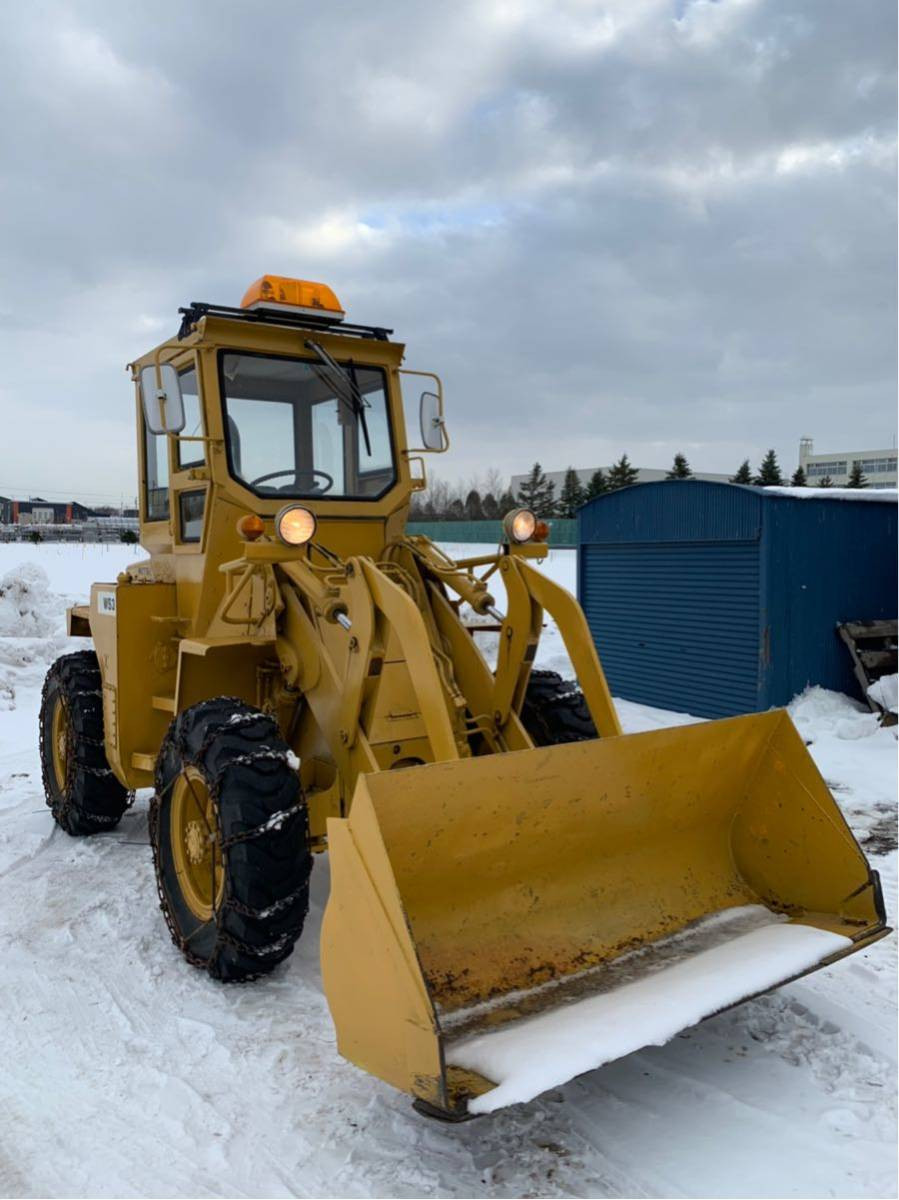 三菱 WS3 札幌 北海道 タイヤショベル ホイールローダー 除雪機 除雪車
