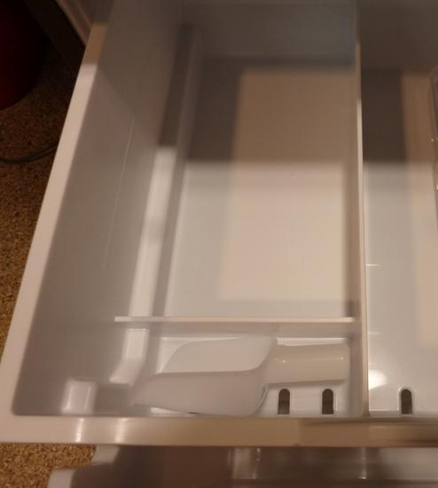 札幌限定 HITACHI 日立 3ドア ノンフロン冷凍冷蔵庫 315L R-K320HV(TD) ダークブラウン 自動製氷 2017年製 清田区_画像6