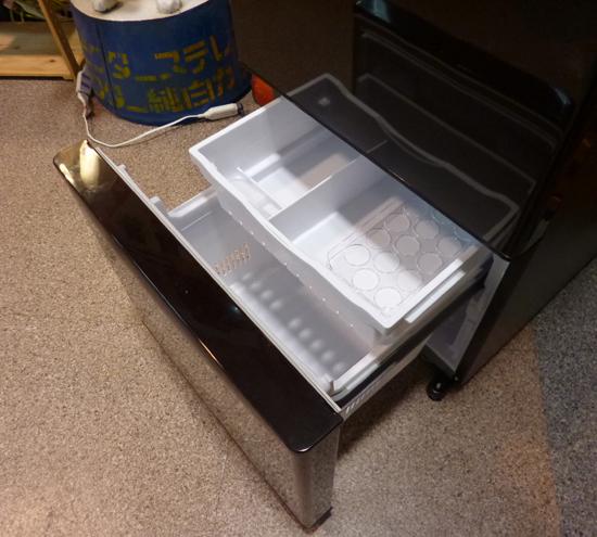 札幌限定 HITACHI 日立 3ドア ノンフロン冷凍冷蔵庫 315L R-K320HV(TD) ダークブラウン 自動製氷 2017年製 清田区_画像5