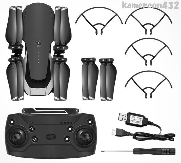 [Eachine E511S] GPS WiFi FPV 720P HDカメラ 最大16分間飛行 RC クアッドコプター 折り畳み式 RTF ドローン _画像9