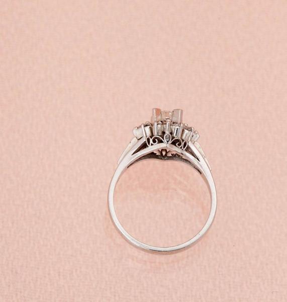 ダイヤモンド指輪 0.47ct 指輪 PT900 12サイズ 5.2g 中古 美品 【即決】_画像4