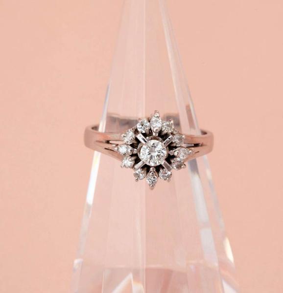 ダイヤモンド指輪 0.47ct 指輪 PT900 12サイズ 5.2g 中古 美品 【即決】_画像1