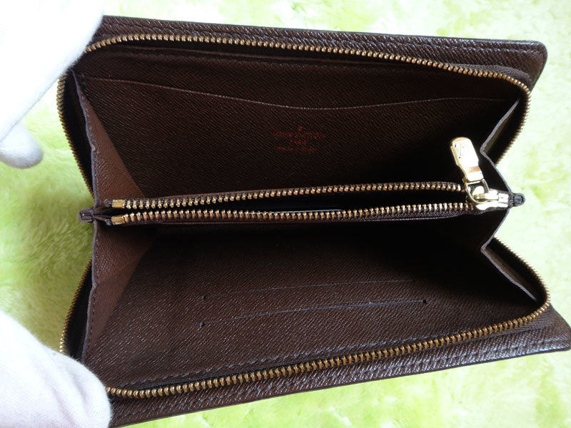 Louis Vuitton ルイヴィトン 本物 ダミエ 長財布 中古【即決】_画像3
