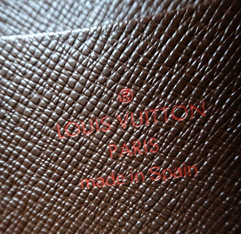 Louis Vuitton ルイヴィトン 本物 ダミエ 長財布 中古【即決】_画像7