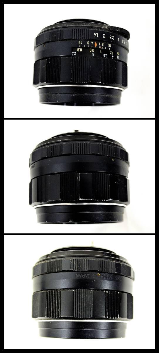 ASAHI PENTAX SPOTMATIC 一眼レフカメラ / Super Multi Coated TAKUMAR F1.4 50mm / F3.5 135mm 等 レンズ付き ジャンク 大ReB21 1208 5_画像6