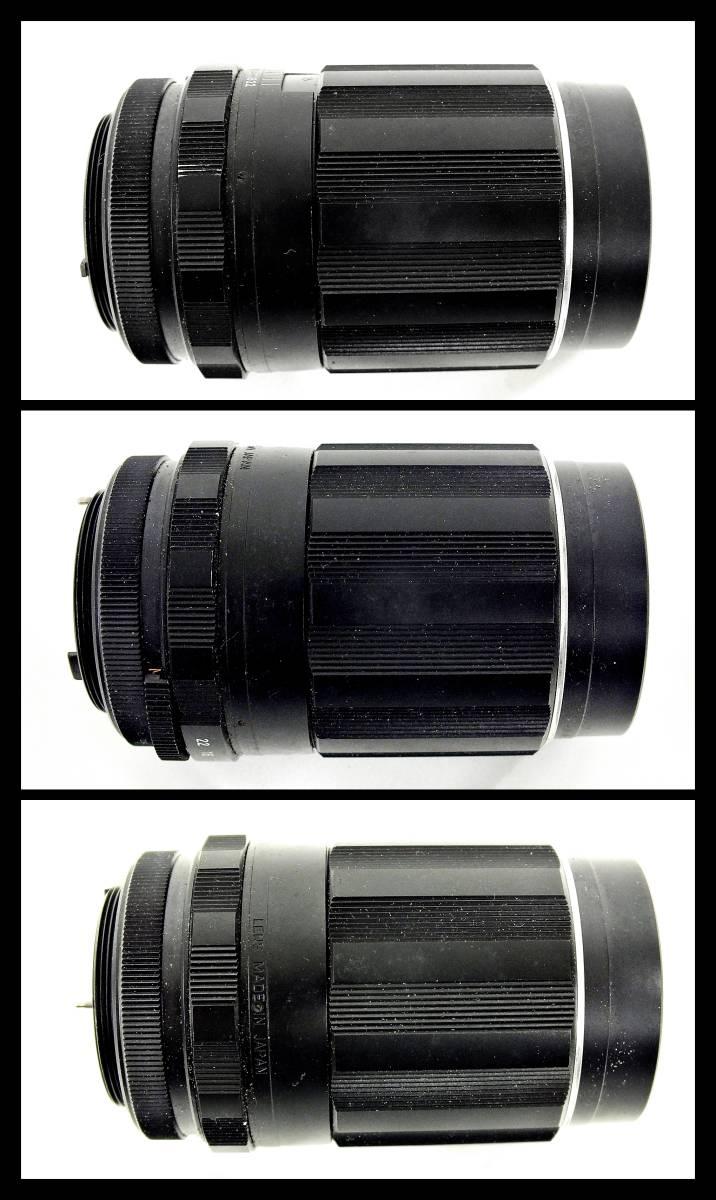 ASAHI PENTAX SPOTMATIC 一眼レフカメラ / Super Multi Coated TAKUMAR F1.4 50mm / F3.5 135mm 等 レンズ付き ジャンク 大ReB21 1208 5_画像8