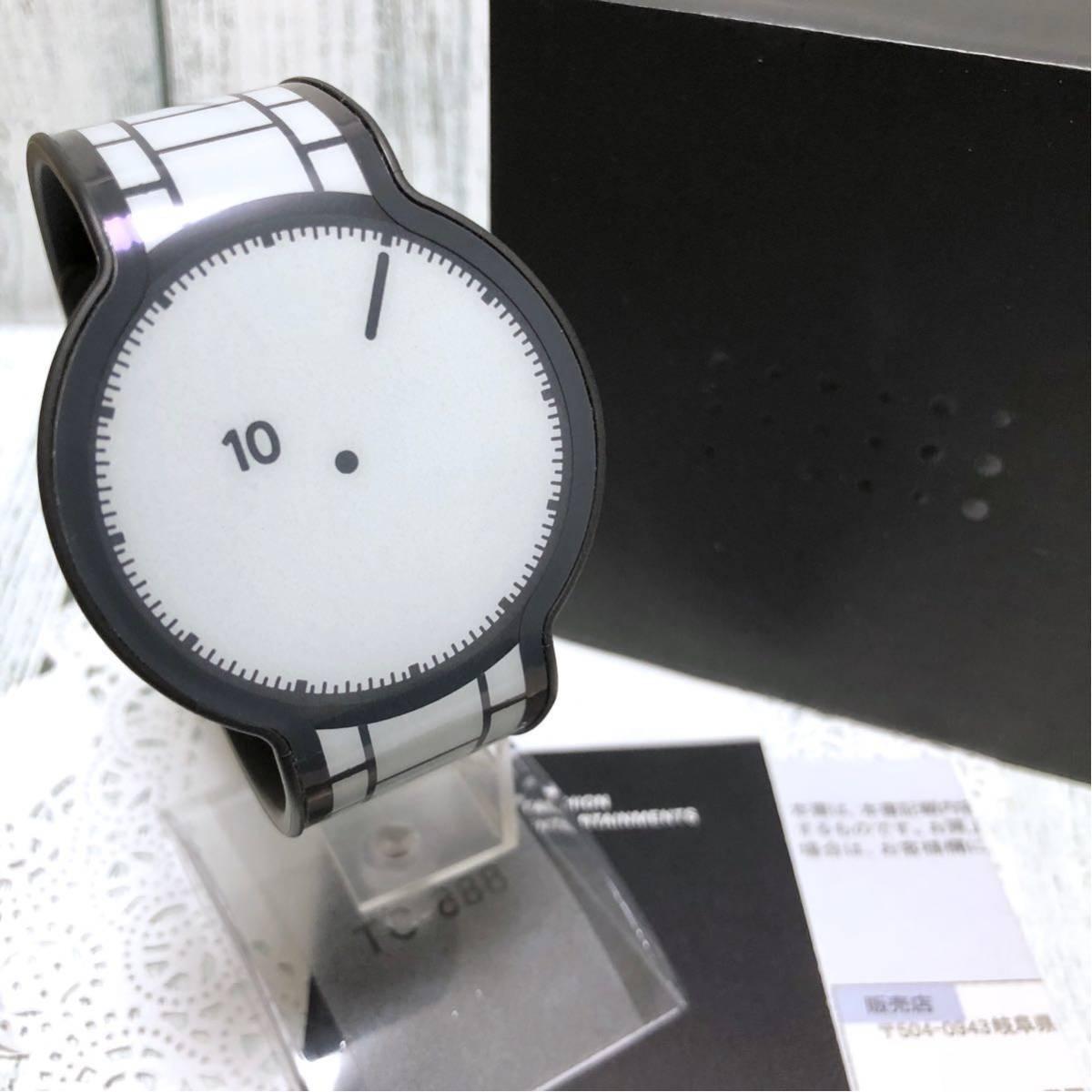 【即決】【美品】SONY ソニー FES Watch フェスウォッチ 腕時計 FES-WM1 ホワイト デジタル 中古拍卖