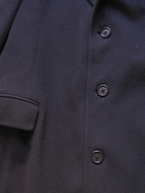 USA製 美シルエット CHAPS -RALPH LAUREN -王道アメリカントラディッショナル*ラルフローレン*メルトン*チェスターコート/カシミア/ウール_画像7
