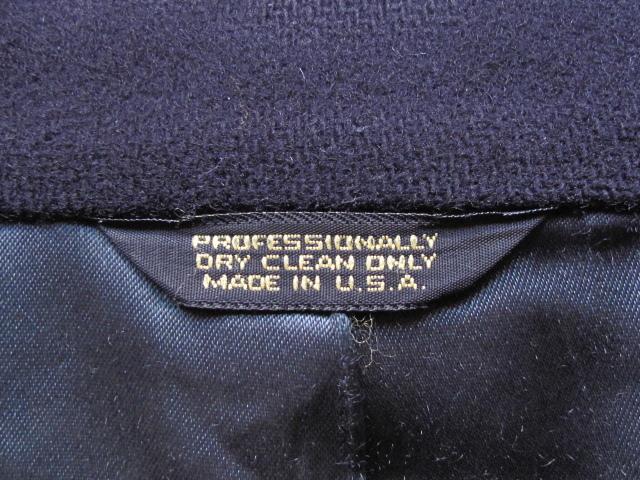 USA製 美シルエット CHAPS -RALPH LAUREN -王道アメリカントラディッショナル*ラルフローレン*メルトン*チェスターコート/カシミア/ウール_MADE IN U.S.A.