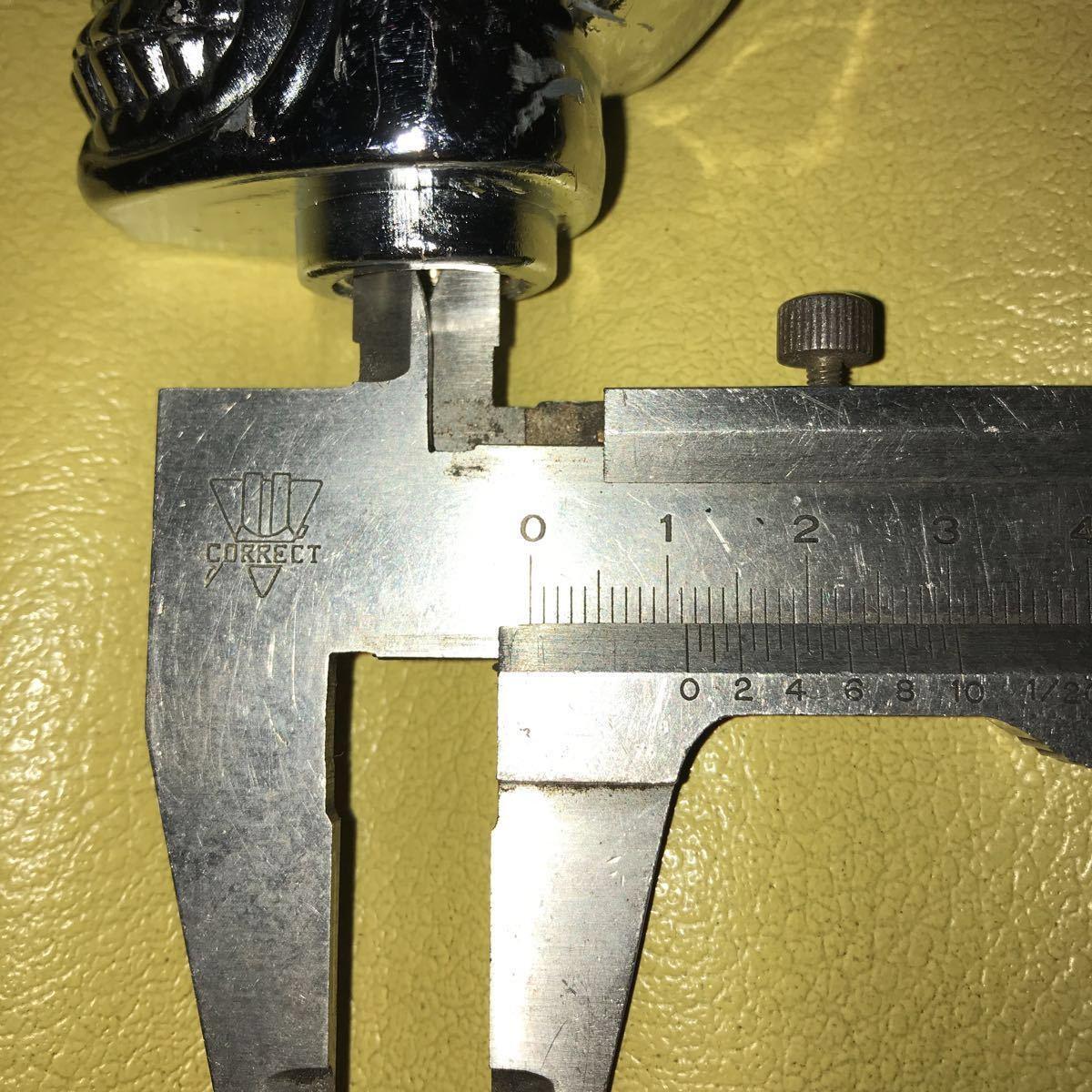 スカル シフトノブ クローム ビンテージ チョッパー ボバー ホットロッド カスタム chopper bobber hotrod kustom vintage_画像6