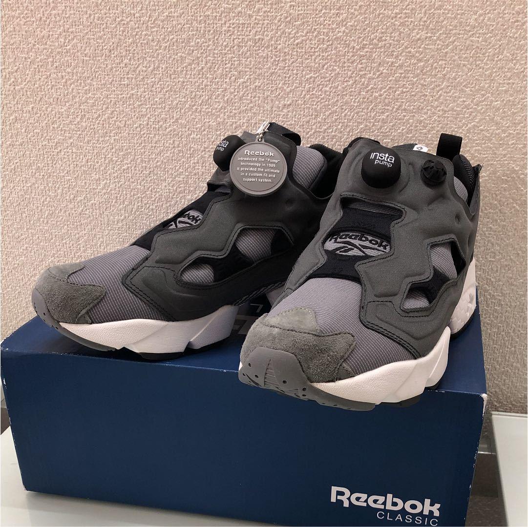 b14b72ec6185 Reebok Insta pump Fury Tec AR0625 gray 27.0  Real Yahoo auction salling
