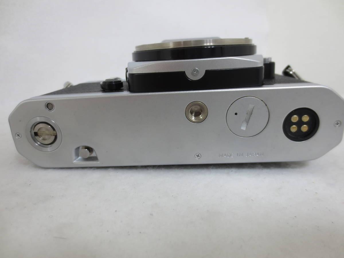 ニコン FM2 本体 シャッター切り確認 12-20_画像8