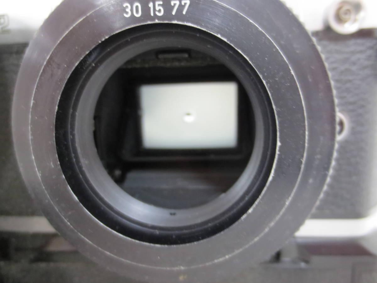 ニコン FM2 シャッター切り確認 12-24_画像6