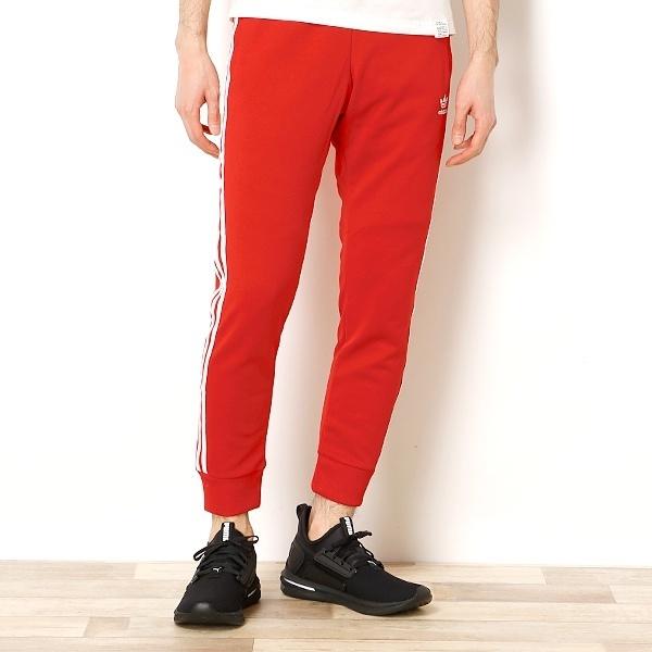 M size ] domestic regular Adidas Originals scarlet red SST