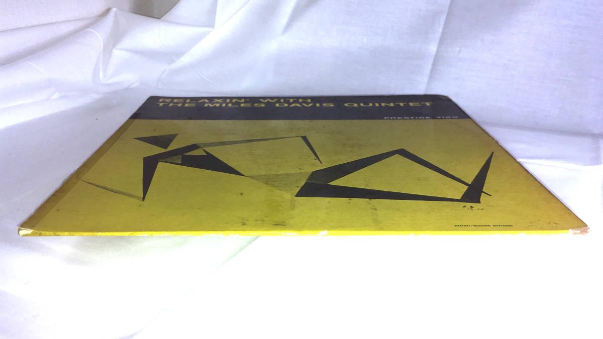 【オリジナル 入手困難】MILES DAVIS / RELAXIN ( DG, RVG, NYC, PRLP 7129, Prestige ) ● a1786_画像9
