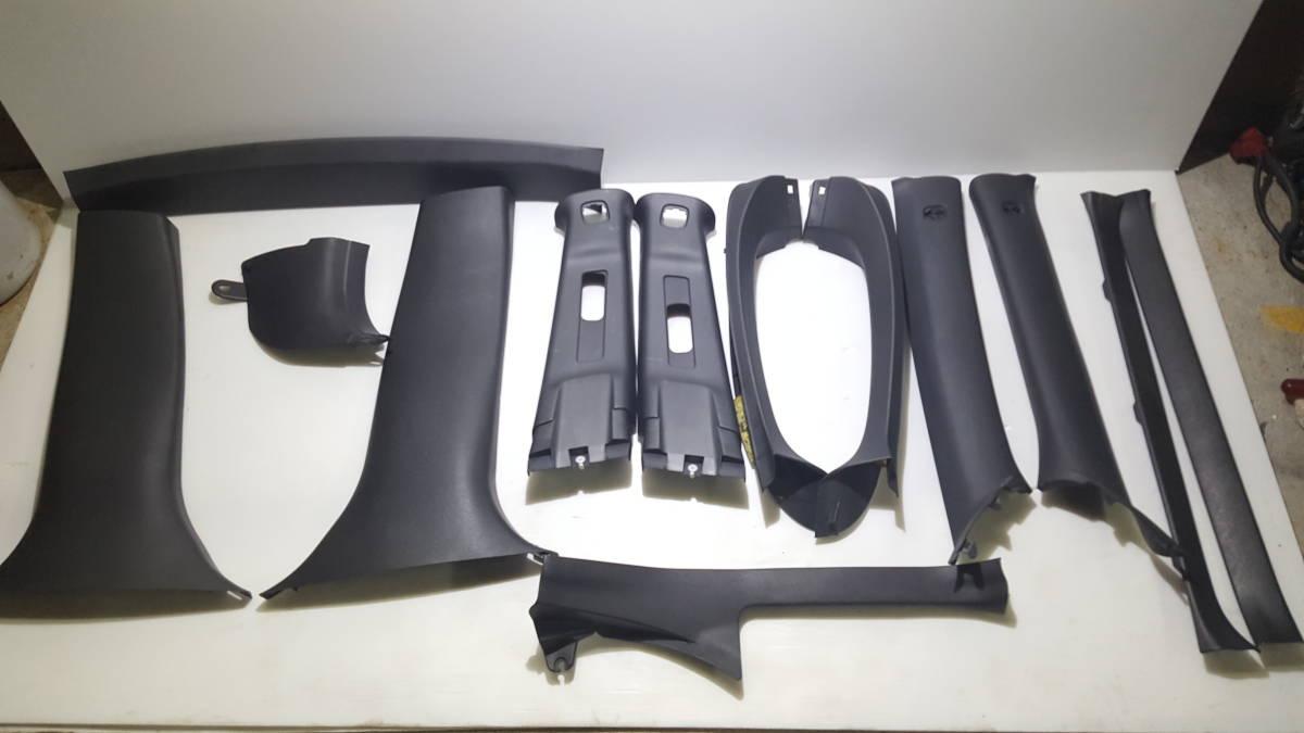インプレッサ GRB WRX STi  ピラー トリム 内装 シートベルト カバー セット サイド GRF GVB GDB GC8