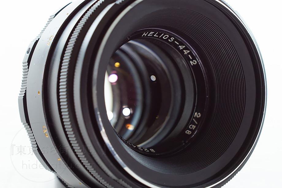 ぐるぐるボケのヘリオス【分解清掃済み・撮影チェック済み】Helios 44-2 58mm F2.0 各社カメラ用M42マウントアダプタ付き!-83h_画像4