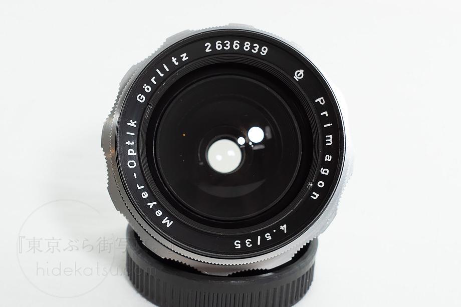 メイヤーの準広角プリマゴン【分解清掃済み・撮影チェック済み】Primagon F4.5 35mm M42 / Meyer Optik Grlitz _03g_画像3