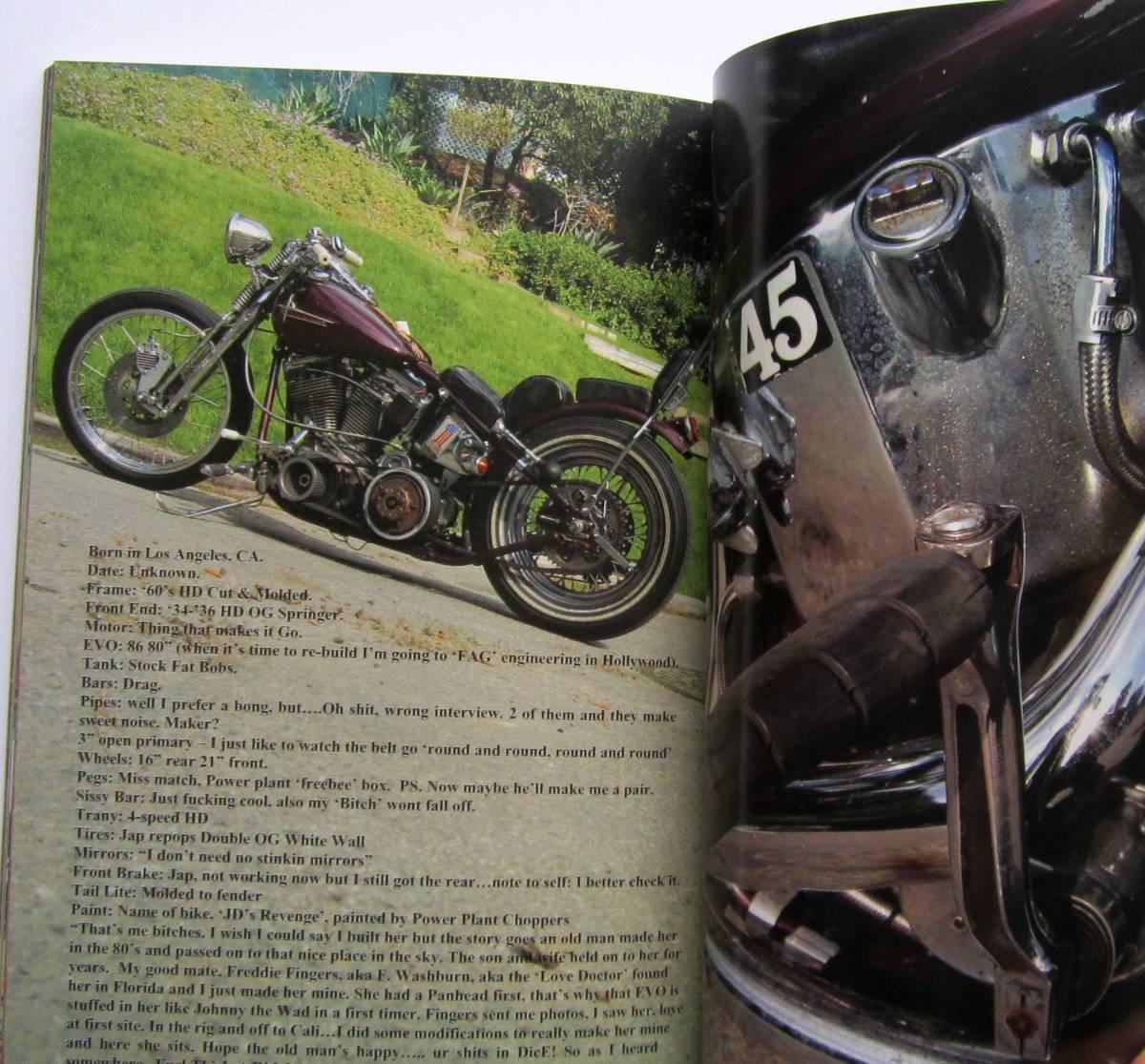DicE Magazine ISSUE 26 ダイスマガジン 26 チョッパー ハーレー USA_画像7