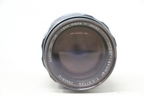ペンタックス/PENTAX ボディ SPOTMATIC SP / レンズ4本 Super-Takumar 1:1.8/55 / 1:3.5/135 他 (B9831)_画像5