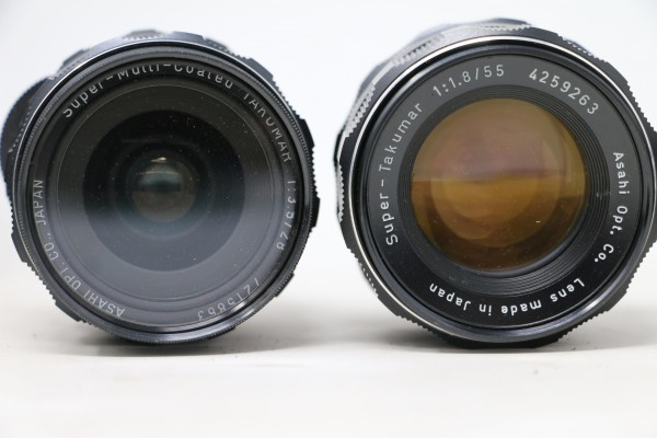 ペンタックス/PENTAX ボディ SPOTMATIC SP / レンズ4本 Super-Takumar 1:1.8/55 / 1:3.5/135 他 (B9831)_画像4