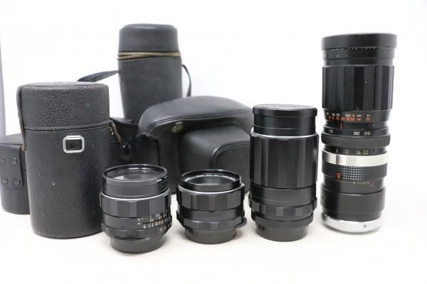 ペンタックス/PENTAX ボディ SPOTMATIC SP / レンズ4本 Super-Takumar 1:1.8/55 / 1:3.5/135 他 (B9831)_画像7
