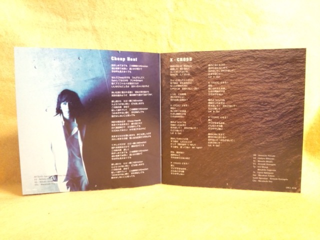 小野正利 X・CROSS 二人だけのSTORIES Loving You 君に来た夏 おのまさとし CD SRCL-3518_小野正利 X・CROSS 二人だけのSTORIES CD