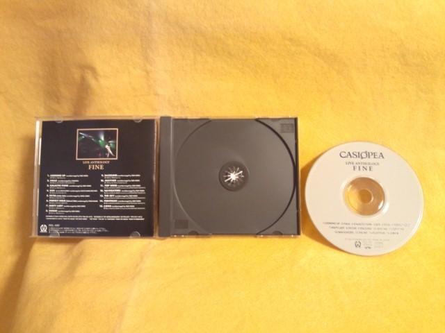 Casiopea Live Anthology Fine カシオペア ライブ盤 CD ベスト盤 PICL-1097 ライブ アンソロジー ファイン_カシオペア Live Anthology Fine PICL-1097