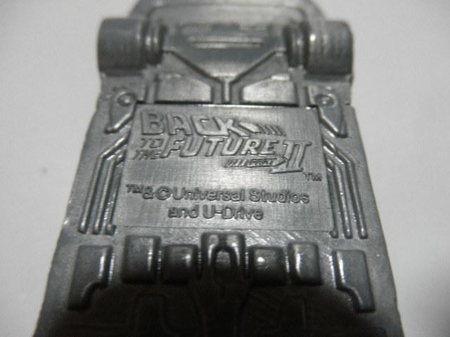 @@ジャンク品  レア 車型ライター デロリアン DMC-12 BACK TO THE FUTURE パートⅡ コレクション 雑貨 インテリア 金属  _画像4