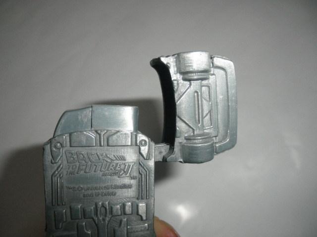 @@ジャンク品  レア 車型ライター デロリアン DMC-12 BACK TO THE FUTURE パートⅡ コレクション 雑貨 インテリア 金属  _画像7