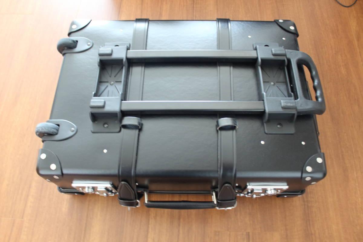 ■GLOBE TROTTER グローブトロッター 21インチ ブラック キャリーケース 未使用 正規品 スーツケース_画像3