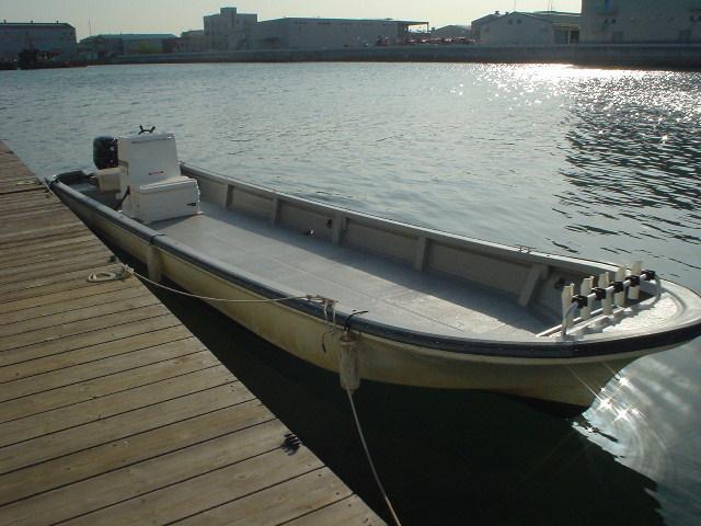 恒例の年末年始大処分・中古リメイク和船・W-27・新古DF-30馬力付_画像7