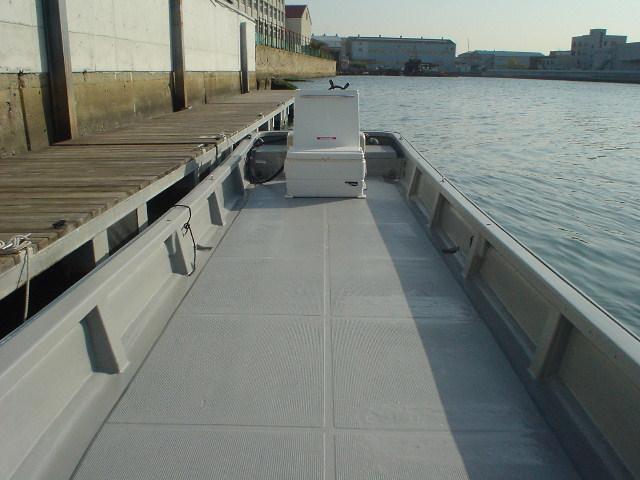 恒例の年末年始大処分・中古リメイク和船・W-27・新古DF-30馬力付_画像10