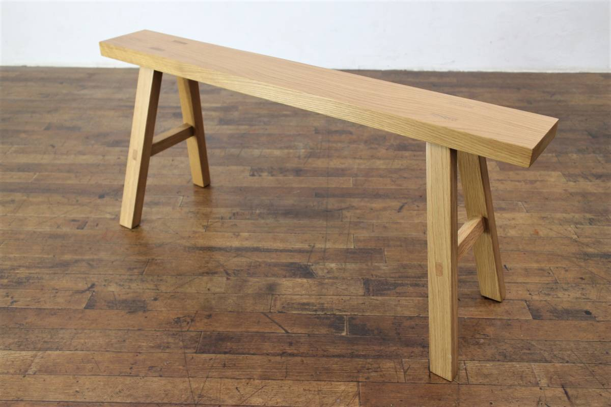 Magnificent Muji Ryohin Muji Oak Natural Wood Bench Chair Dining Real Creativecarmelina Interior Chair Design Creativecarmelinacom