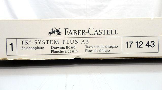 【ゆ325】Faber-Castell ファーバーカステル 171243 A3 TKシステム製図板 ドラフティングヘッド付 設計 作成 平行 三角_画像5