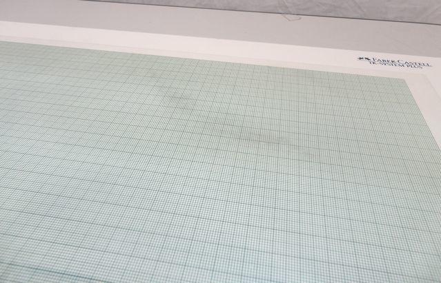 【ゆ325】Faber-Castell ファーバーカステル 171243 A3 TKシステム製図板 ドラフティングヘッド付 設計 作成 平行 三角_画像3