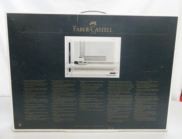 【ゆ325】Faber-Castell ファーバーカステル 171243 A3 TKシステム製図板 ドラフティングヘッド付 設計 作成 平行 三角_画像4