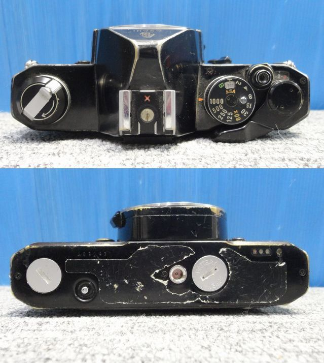【YU447】PENTAX ペンタックス カメラその他計4点セット MX MEsuper S3 MOTER DRIVE A ジャンク品 一眼レフカメラ フィルム ASAHI_画像3