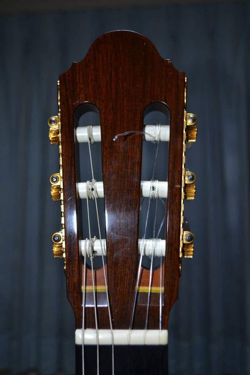 ◆ 銘品 1992年製 一柳一雄氏製作 総単板ギター ドイツ製高級ハードケース付 ◆