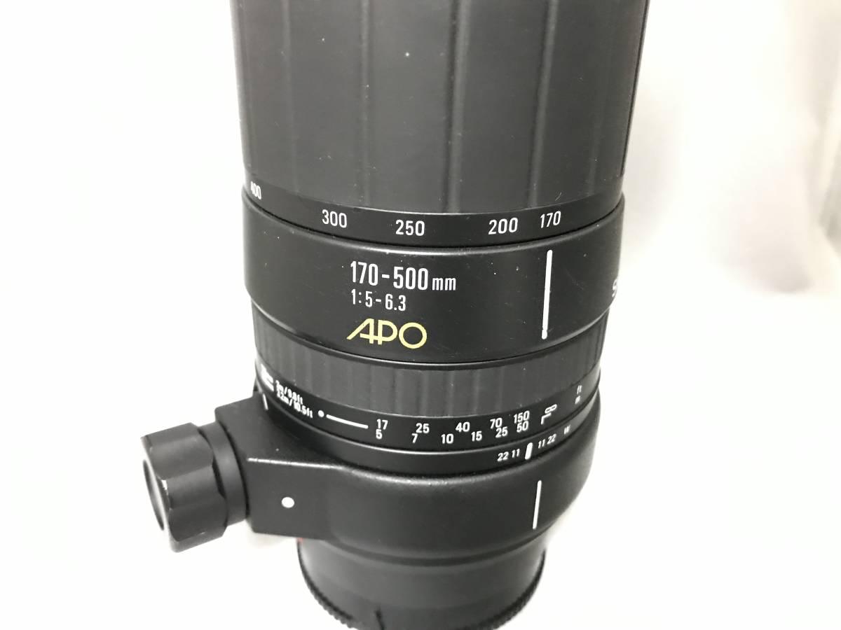 ★超極上品★SIGMA APO 150-500mm F5-6.3 forMINOLTA★276_画像7