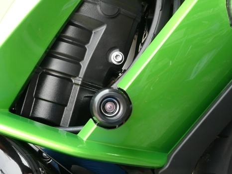 半額★アグラス NINJA1000 (11-16) レーシングスライダー/フレームタイプ/エンジンガードスライダー 定価12,100円 ニンジャ AGRAS_画像6