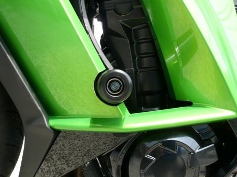 半額★アグラス NINJA1000 (11-16) レーシングスライダー/フレームタイプ/エンジンガードスライダー 定価12,100円 ニンジャ AGRAS_画像7
