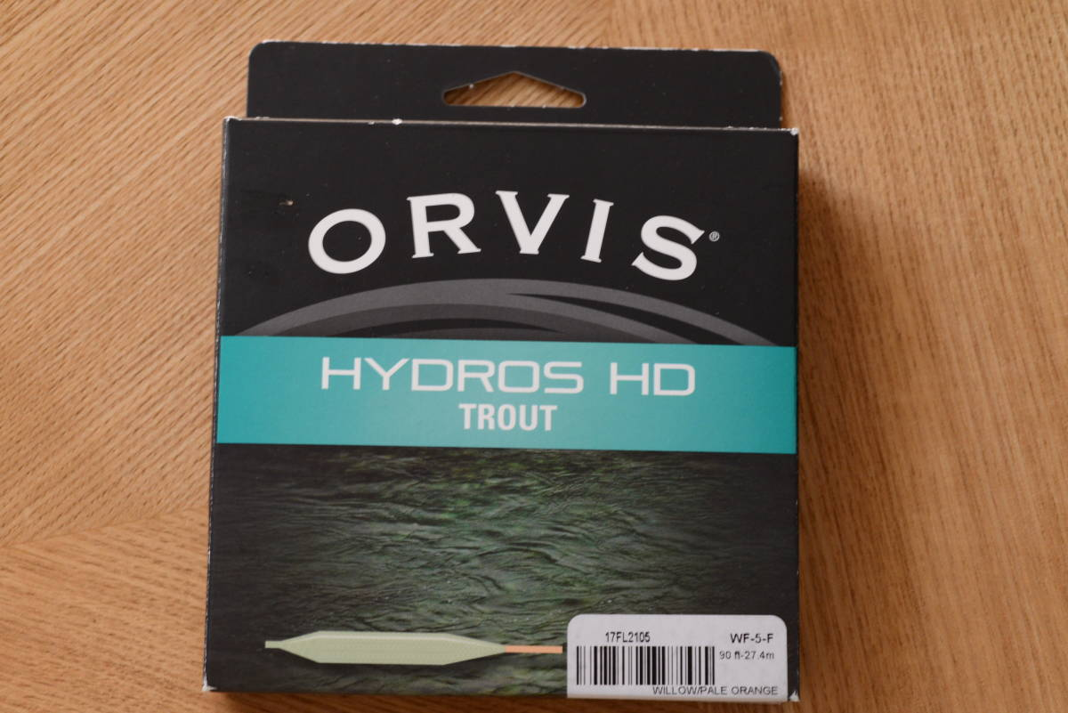 ORVIS HYDROS HD WF4F オービスフローティングライン4番/新品 _画像1