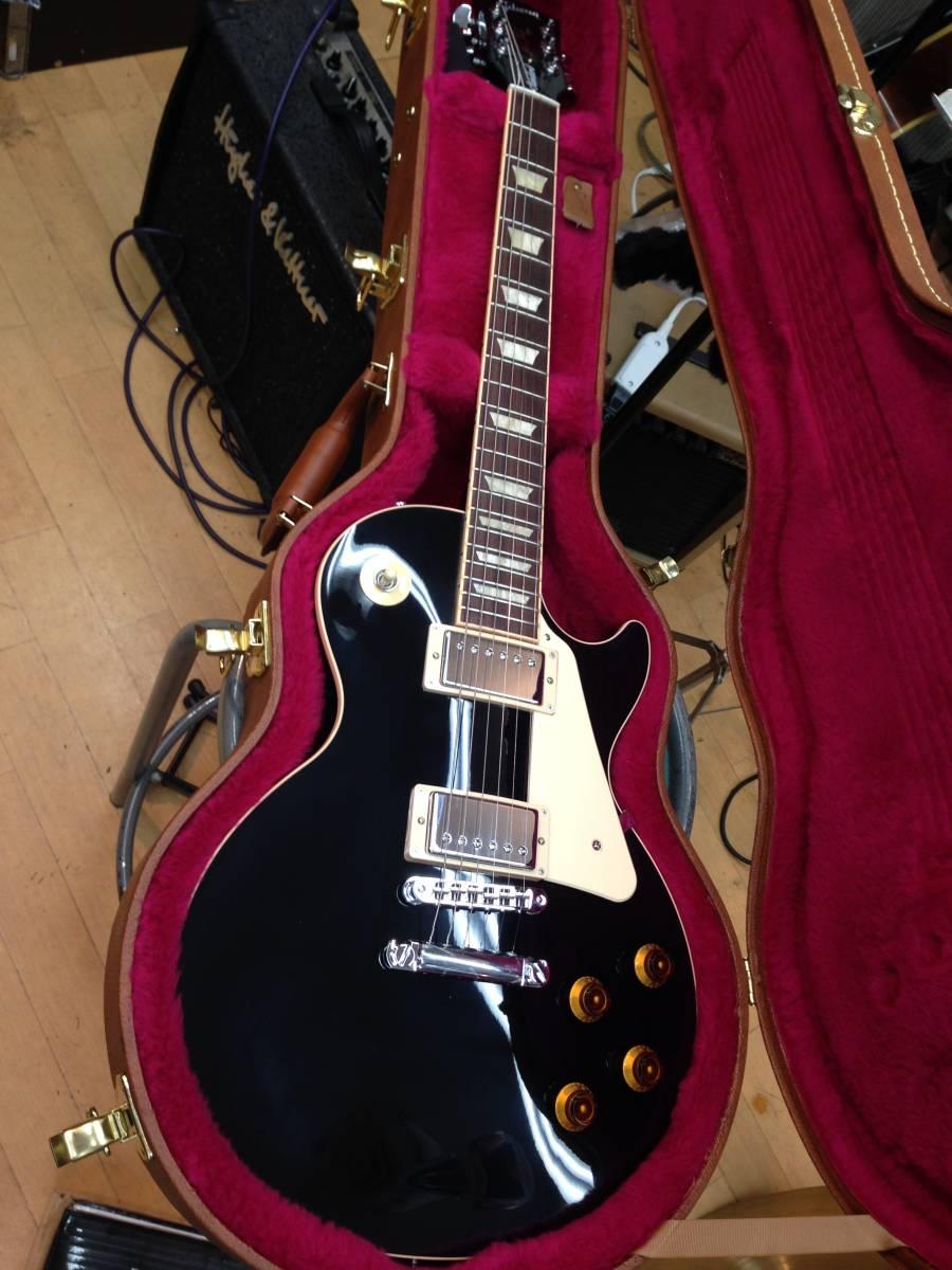 【送料無料】Gibson Les Paul Standard 2016 Ebony 新品特価_画像1