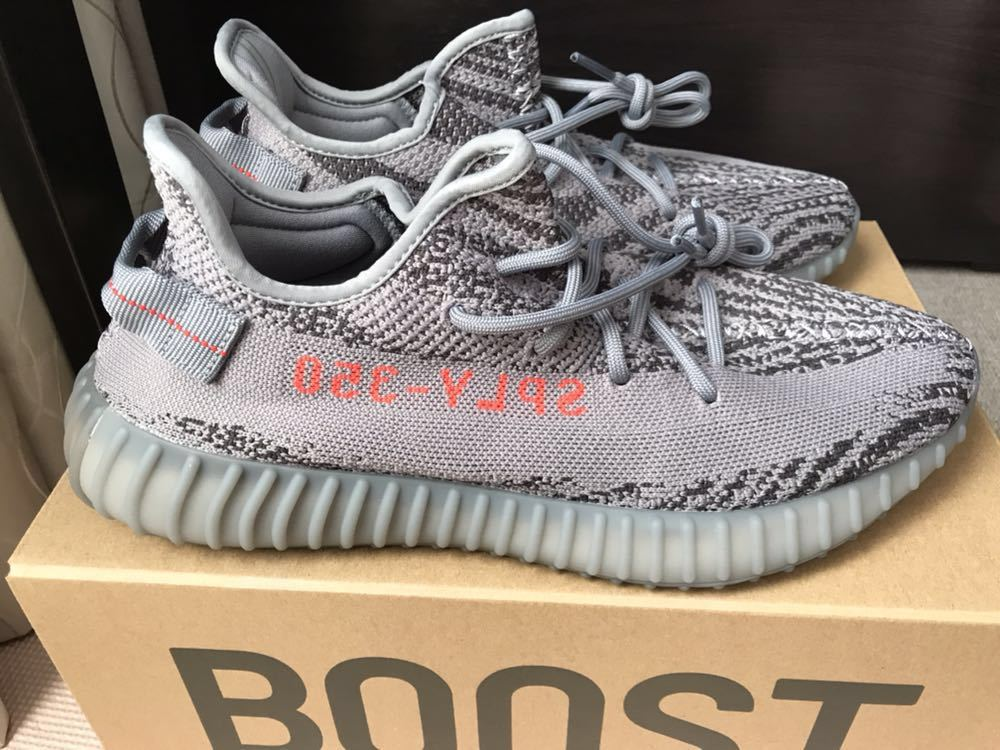 info for 067bd fb34b 国内正規品 adidas Yeezy BOOST 350 V2 AH2203 28.5 US10.5 white グレー ボールド