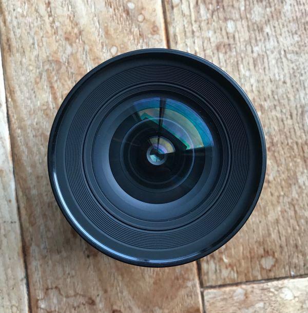 良品 ニコン (NIKON) ニッコール(NIKKOR) 1:2.8/20mm MF レンズ 日本製 ブラック マニュアルフォーカス_画像2